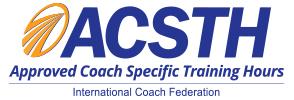 Horas de entrenamiento de Coaching aprobadas por la Federación Internacional de Coach